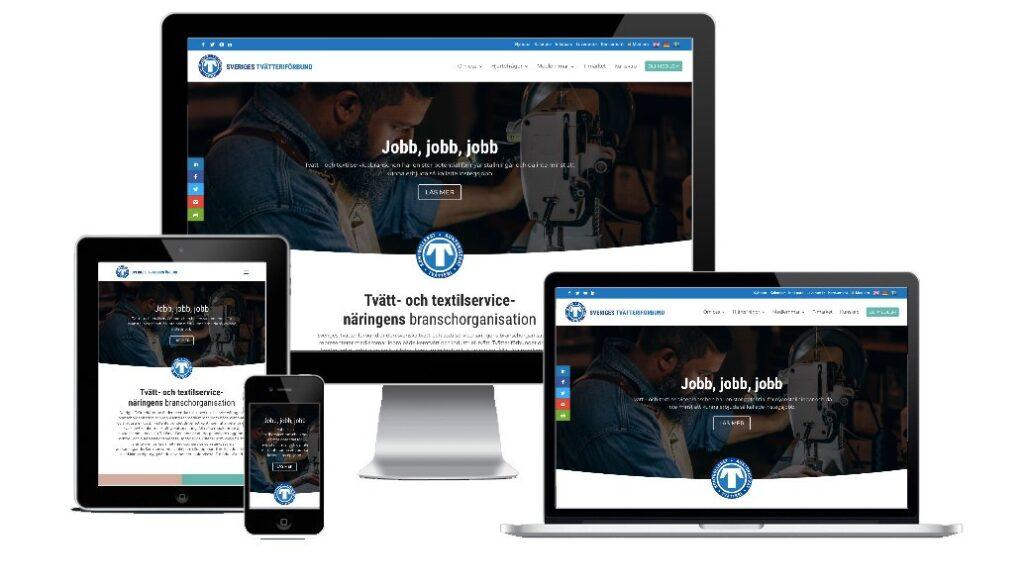 Vår nya hemsida!
